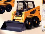 Hitachi SX608T skid steer - 2004