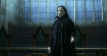 Snape during the spontaneous assembly