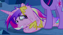 Princess Cadance shielding herself 2 S2E26