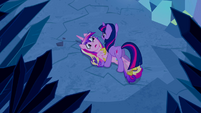 Princess Cadance talking to Twilight S2E26