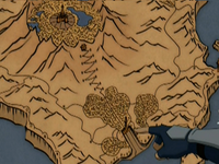 Fire Nation Capital map