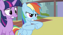 Rainbow Dash 'the hard way' S2E26