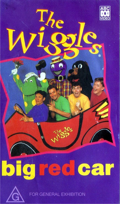 The wiggles big red car video