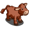 Red Poll Cow-icon