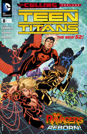 Cover for Teen Titans #8