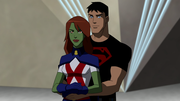 Miss Martian and Superboy - Young Justice Wiki: The Young ...