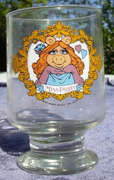 Ravenhead piggy glass