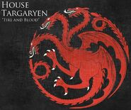 House Targaryen Sigil