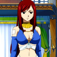 Erza in CS clothes