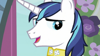 Shining Armor talking S2E26