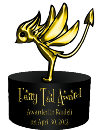 Fairy Tail Award 1