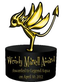 Wendy Marvell Award 1