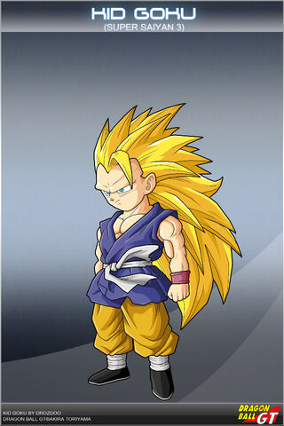 goku and gohan super saiyan  Image - Goku (GT)