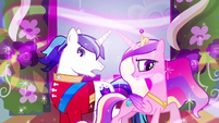 Princess Cadance &amp; Shining Armor not expecting S2E26