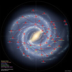Mass Effect 3 Galaxy Map