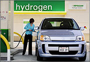 Hydrogen vehicle