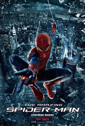 Amazing Spider-Man theatrical poster 02