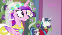 Chrysalis as Cadance surprised S2E26