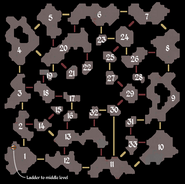 Runespan upper level map numbered