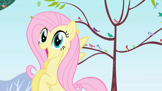 My little Pony; Analisis Personaje: Fluttershy