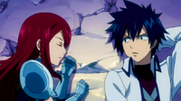 Gray and Erza sleeps together