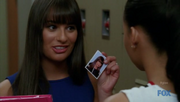 Glee=3x17 - Santana&#39;s Locker - Rachel&#39;s Picture 1