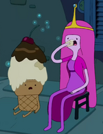 S2e24 princess bubblegum eating ice cream