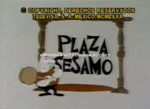 PlazaSesamo70sTitleLogo