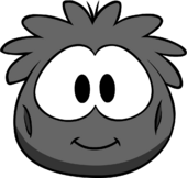 Black Puffle Costume icon