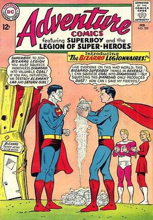 Cover for Adventure Comics #329