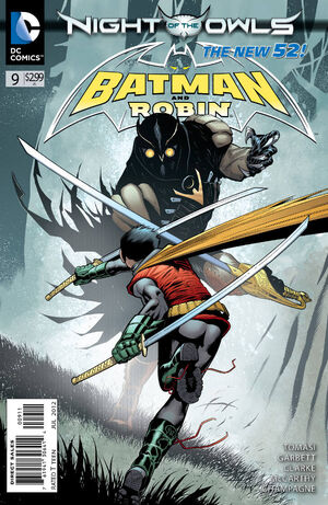 Cover for Batman and Robin #9