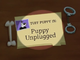 Puppy Unplugged Title Card