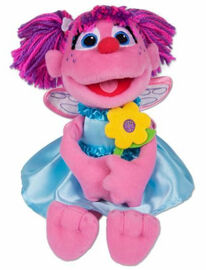Gund take along abby cadabby