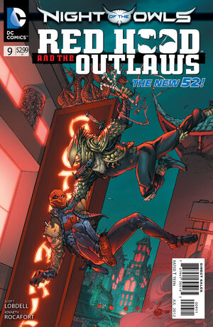 Cover for Red Hood and the Outlaws #9