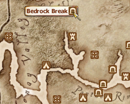 Bedrock Break Map
