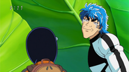 Toriko &amp; Komatsu Unable To Eat Herb Eps 47