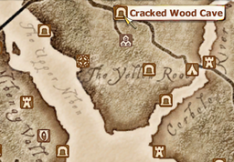 Cracked Wood Cave Map