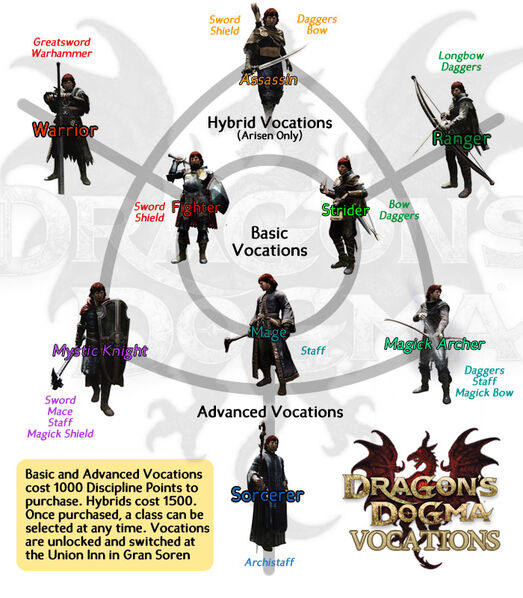 IMAGE(http://images1.wikia.nocookie.net/__cb20120512230060/dragonsdogma/images/thumb/4/4d/DD_vocations_chart.jpg/523px-DD_vocations_chart.jpg)