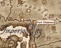 Fort Chalman Map