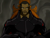 Black Manta face