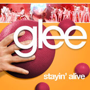 Glee - stayin alive