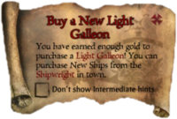 Scroll BuyANewLightGalleon
