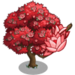 Red Magnolia Tree-icon