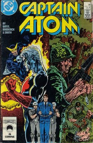 Cover for Captain Atom #9