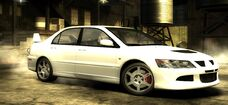 Nfs most wanted mitsubishi lancer evolution viii