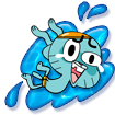 Gumball splashmaster collectnorings