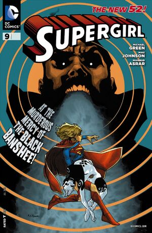 Cover for Supergirl #9