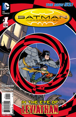 Batman Incorporated Vol 2-1 Cover-1