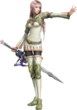 Serah Farron - White Mage Attire