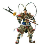 Lu Bu Concept Artwork (DW3)